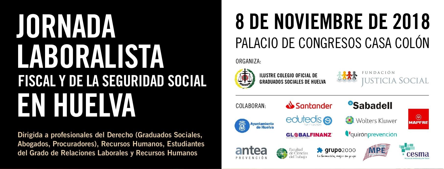 I Jornada Laboralista Fiscal Y De La Seguridad Social En